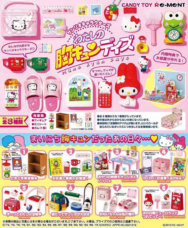 Sanrio Re-Ment Miniatures
