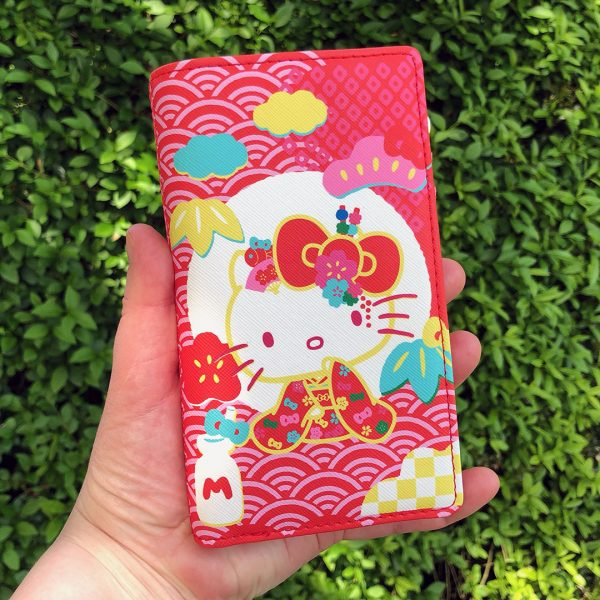 Sanrio Loungefly 60th Anniversary Hello Kitty Flap Wallet