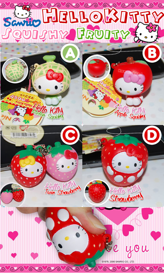 hello kitty squishies