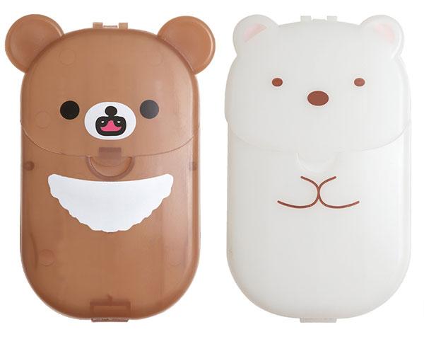 Rilakkuma & Sumikko Gurashi paper soap