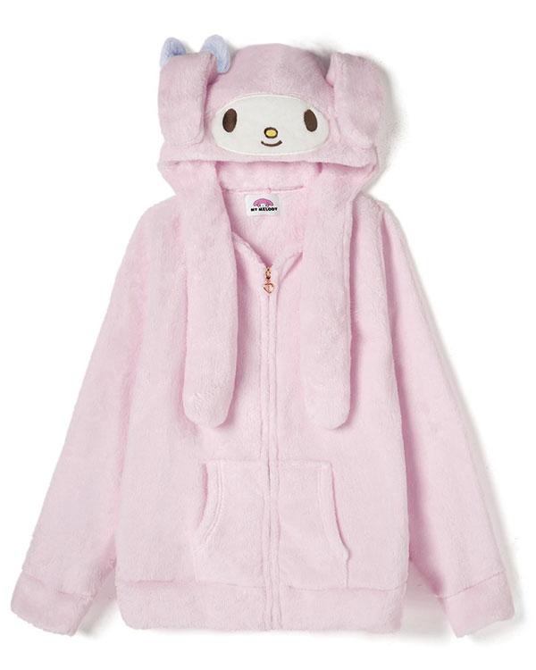 my melody sanrio hoodie