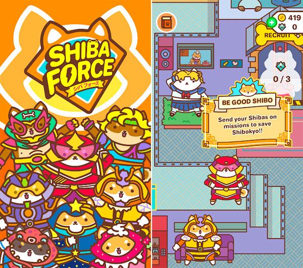 kawaii mobile games - Shiba Force