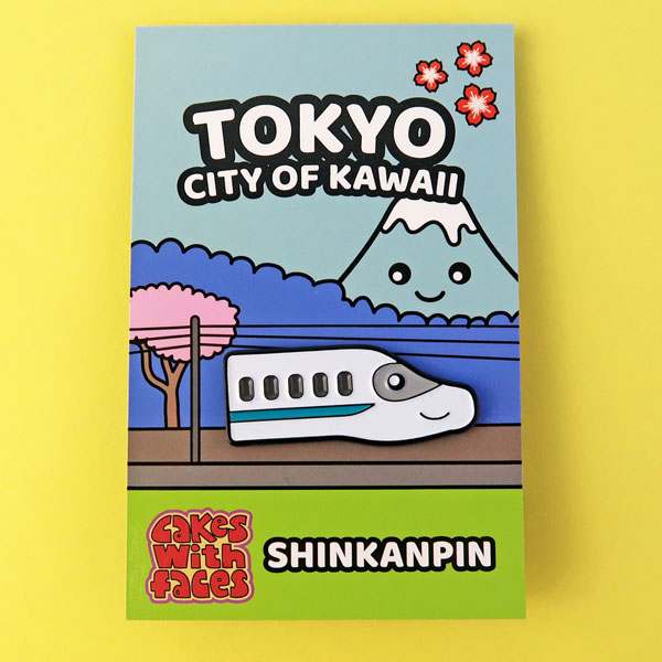 Tokyo enamel pins