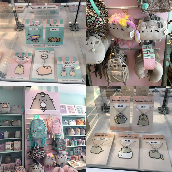 Pusheen x ARTBOX Cafe Shop