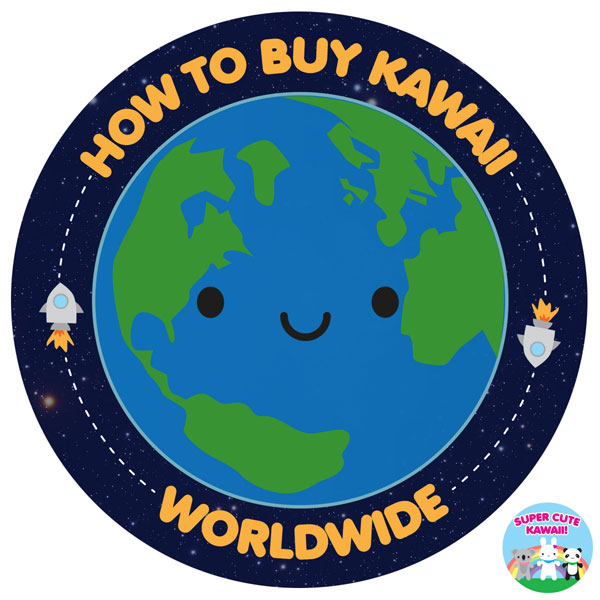 where to buy kawaii worldwide