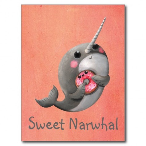 shy_narwhal_with_donut_post_cards-rc31acc7a34e1402a9caa105d27070924_vgbaq_8byvr_512