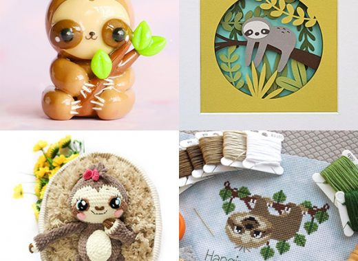 Cute Sloth Crafts