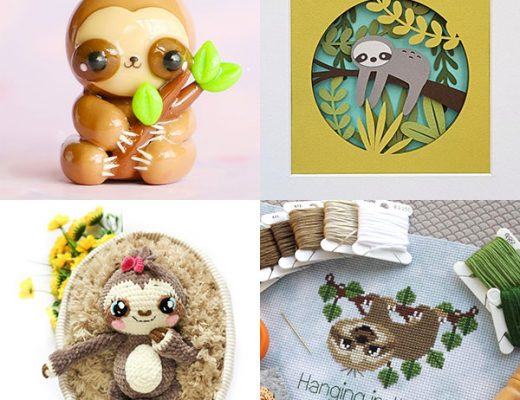 Cute Sloth Crafts