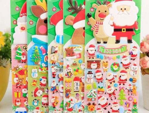 kawaii christmas stationery
