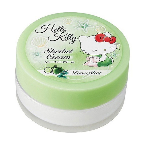 kawaii skin care - Hello Kitty body cream