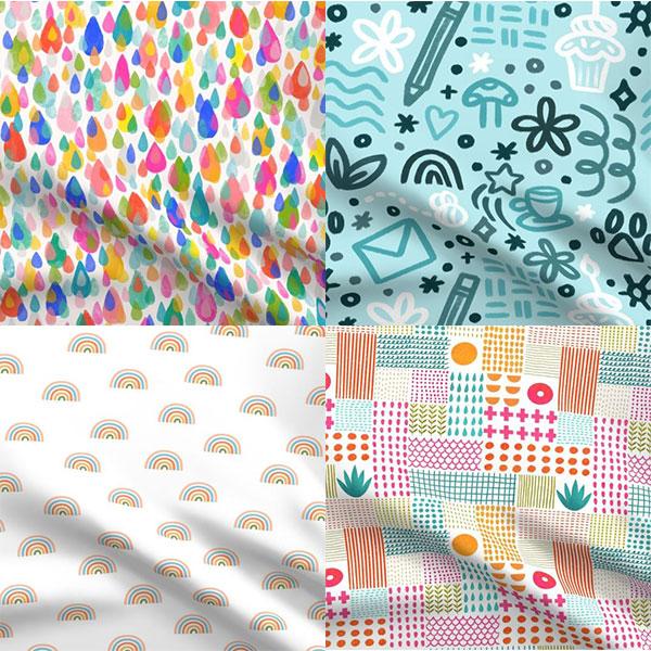 kawaii fabric patterns