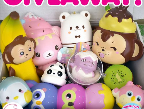 Creamiicandy Kawaii Squishy Giveaway