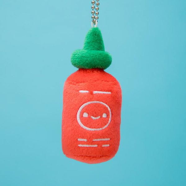 kawaii food plush Sriracha hot sauce
