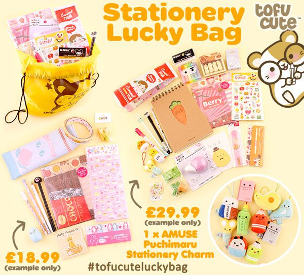 Back To School Kawaii Stationery lucky bag
