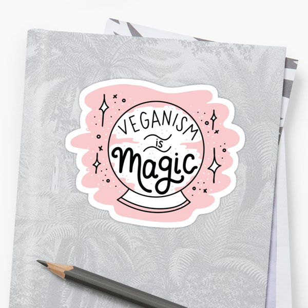 vegan gifts - stickers