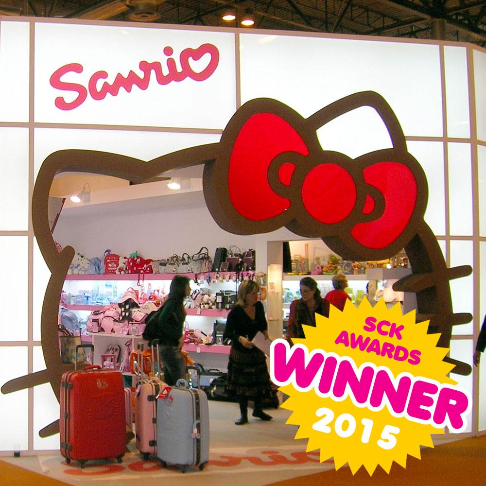 SCK Awards - Sanrio stores