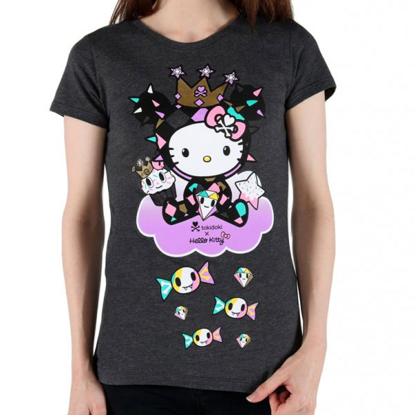 Cute Character Tees - Hello Kitty x tokidoki