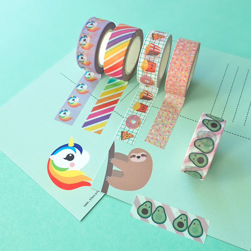 Kawaii Washi Tape review