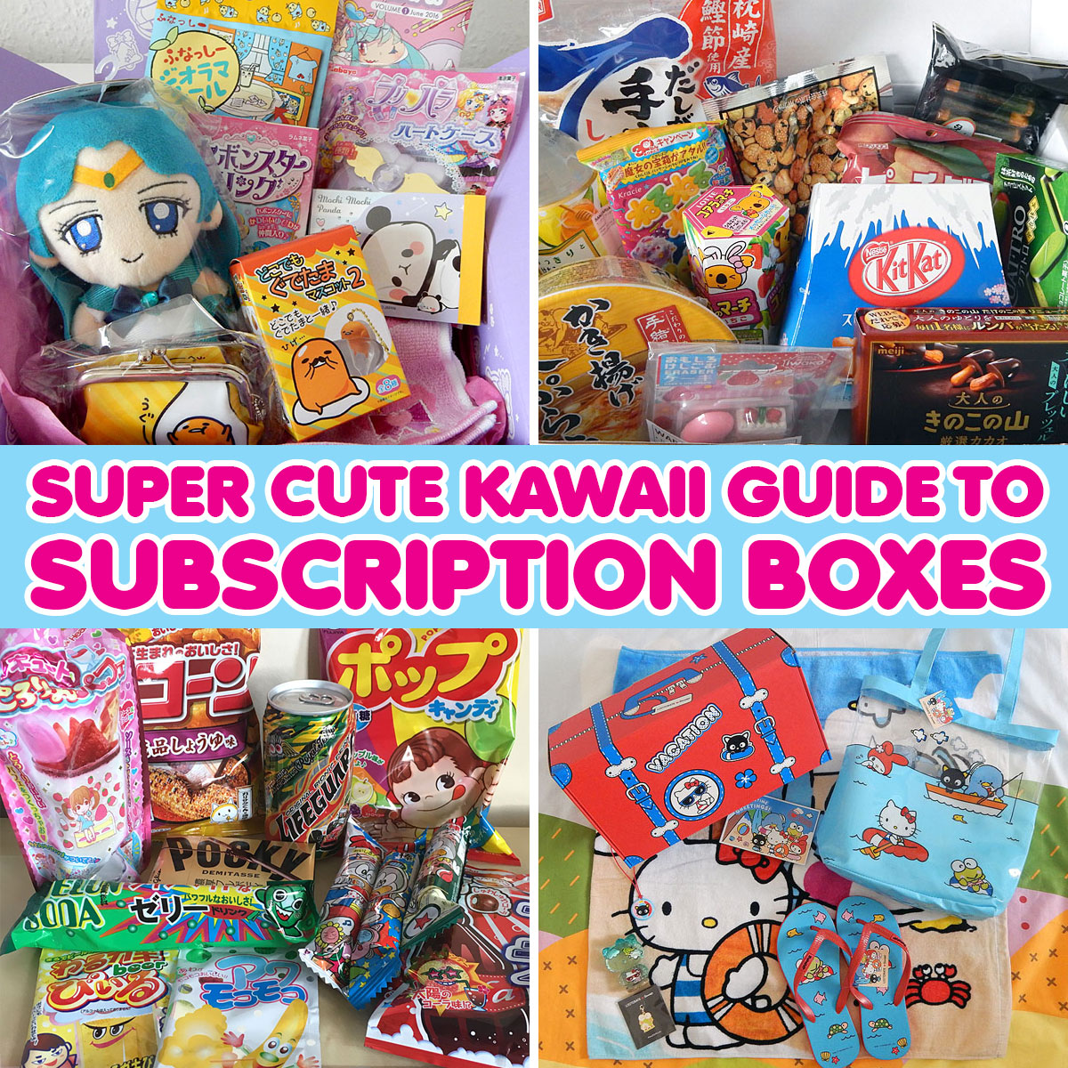 Super Cute Kawaii Guide to Subscription Boxes