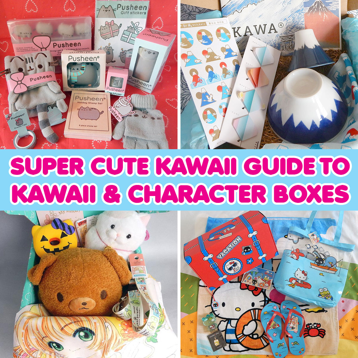 kawaii subscription boxes guide