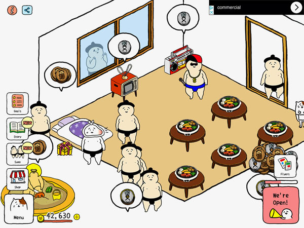 Squishy Business - A Cute Sumo Restaurant Game