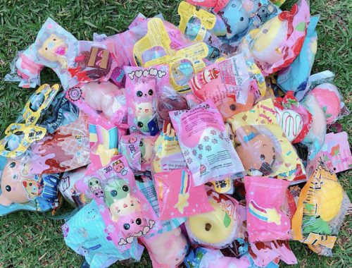 kawaii squishy grab bags