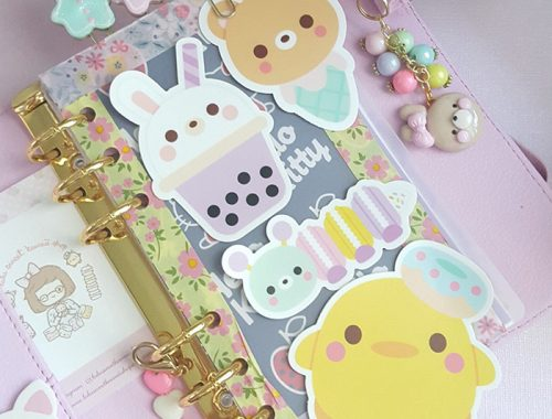 kawaii vinyl stickers