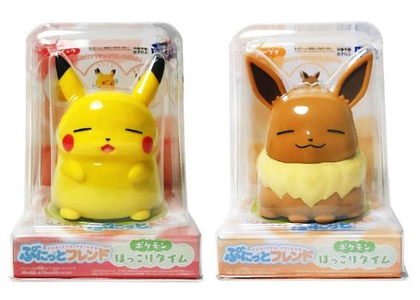 Pokemon Day - Pikachu & Eevee Punitto Friends