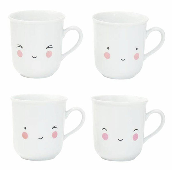 a little lovely company kawaii mugs