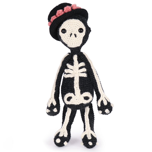 kawaii skeleton crochet kit