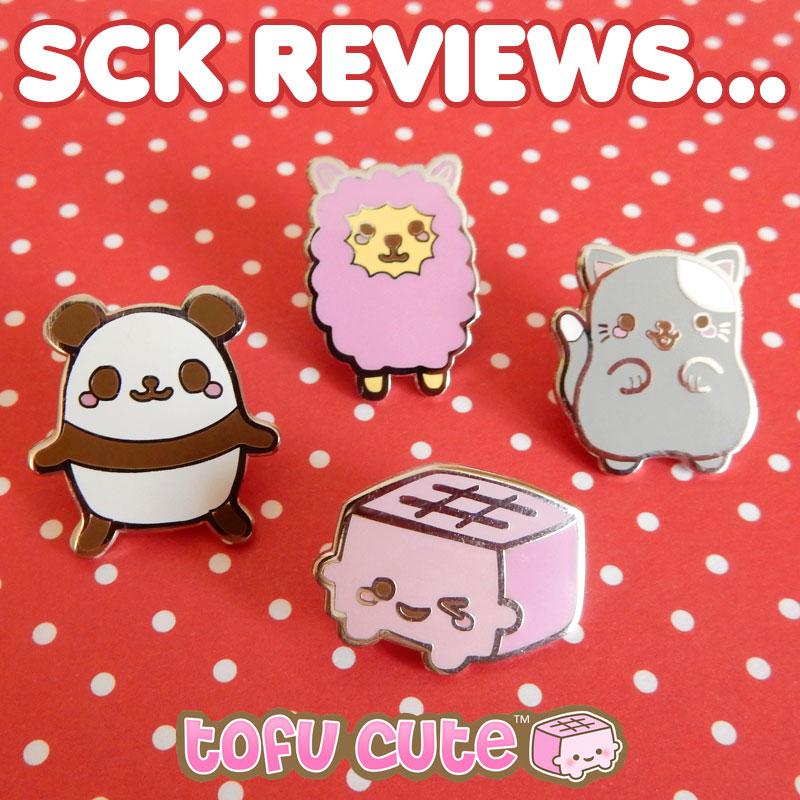 tofu cute enamel pins review