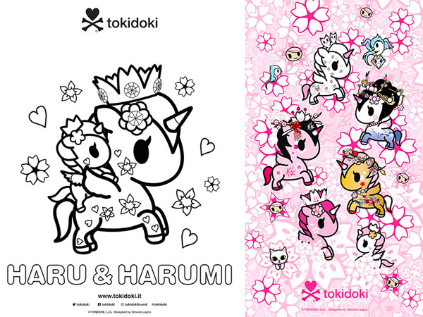 tokidoki Free Printables & Downloads