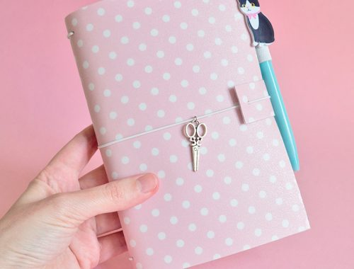 DIY Traveler's Notebook Cover