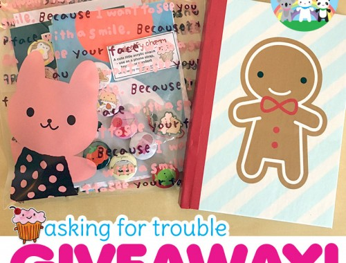 asking for trouble giveaway