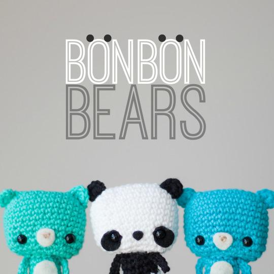kawaii Panda amigurumi crochet pattern