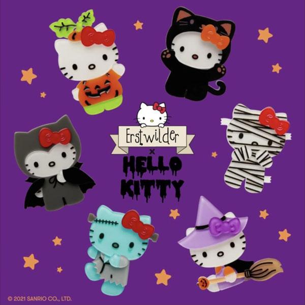 Hello Kitty Halloween pins