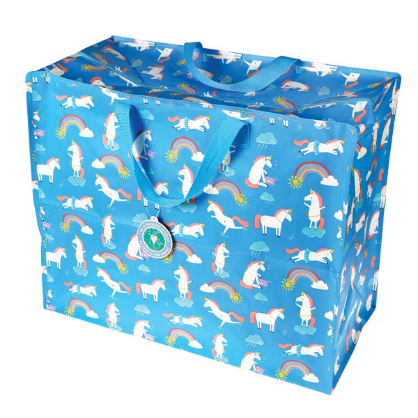 kawaii unicorns storage bag