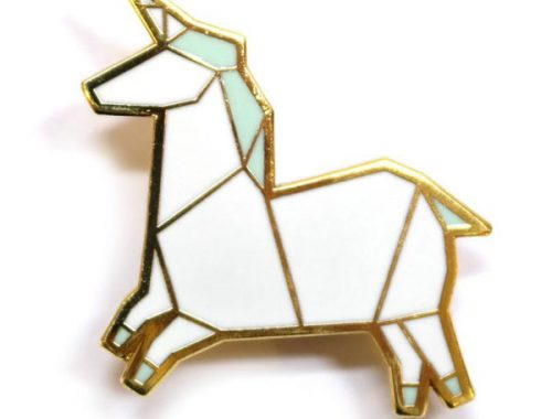 hannah zakari unicorn pin