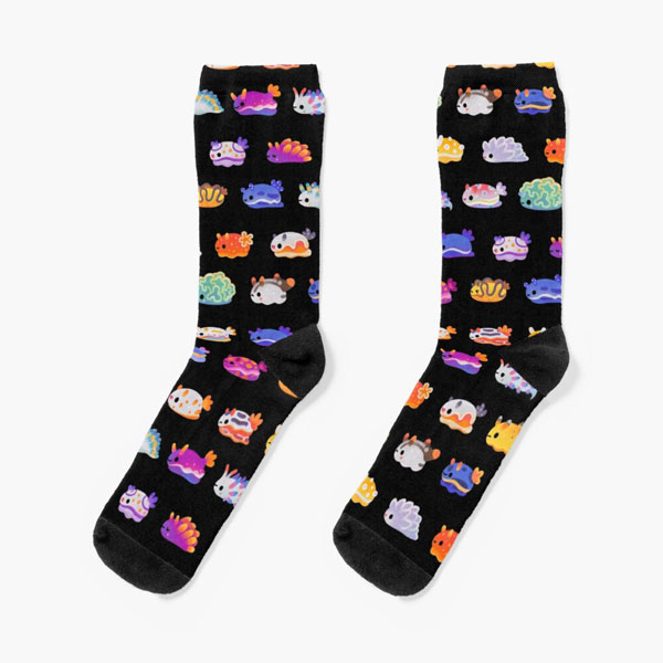 Kawaii Socks at Redbubble - jellyfish