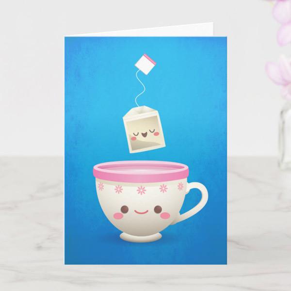 cute card personalised