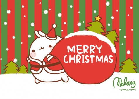 Merry Molang Christmas! - Super Cute Kawaii!!