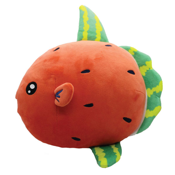 watermelon ocean sunfish kawaii plush