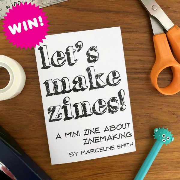 how to make zines giveaway