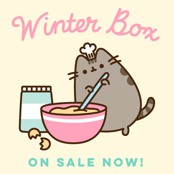 Pusheen Box winter 2019