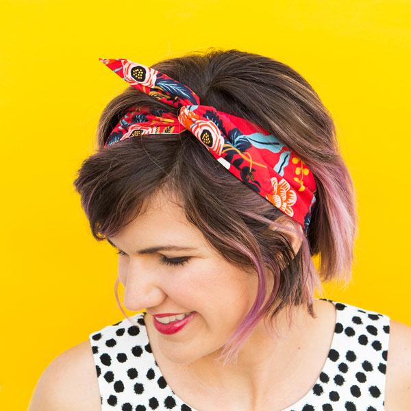 No-Sew Fabric DIY - headband