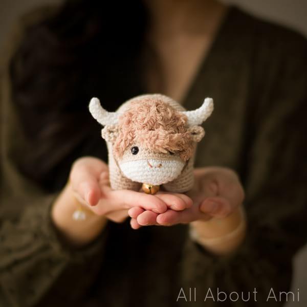 Year of the Ox amigurumi crochet pattern