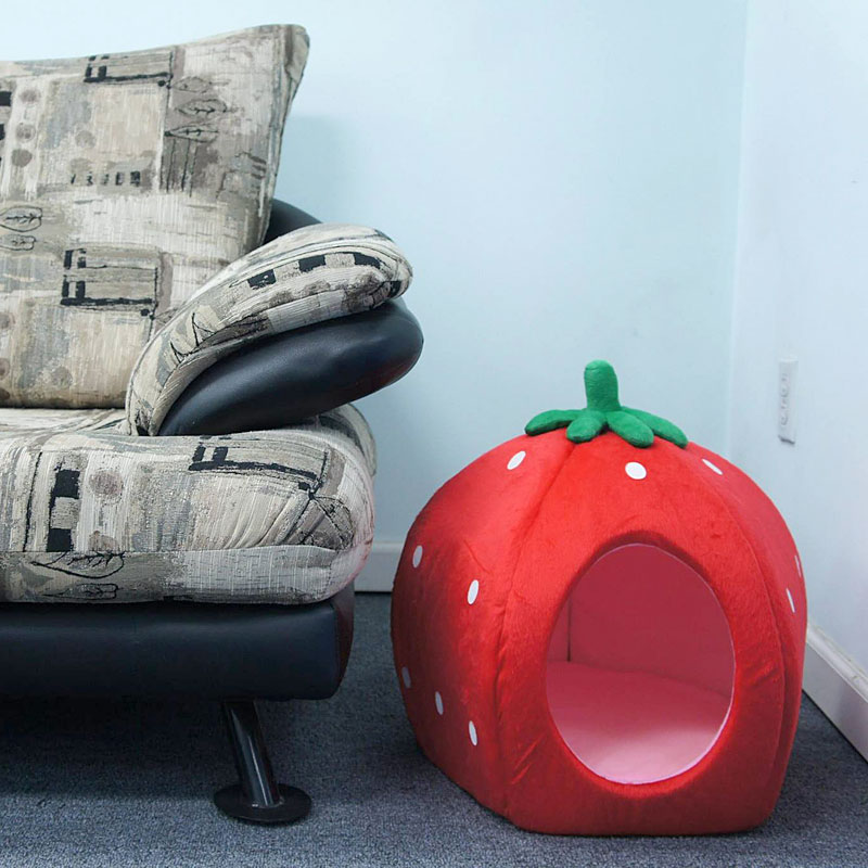 YML Group strawberry pet bed