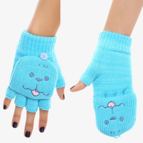 Yuri!!! on Ice Makkachin kawaii gloves mittens