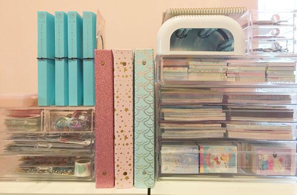 Kawaii Stationery Storage Ideas