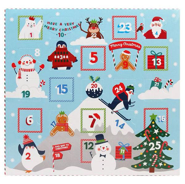 kawaii advent calendars - iwako erasers